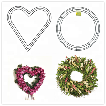 Round Metal Wire Wreath Frames For Wreath Making From China