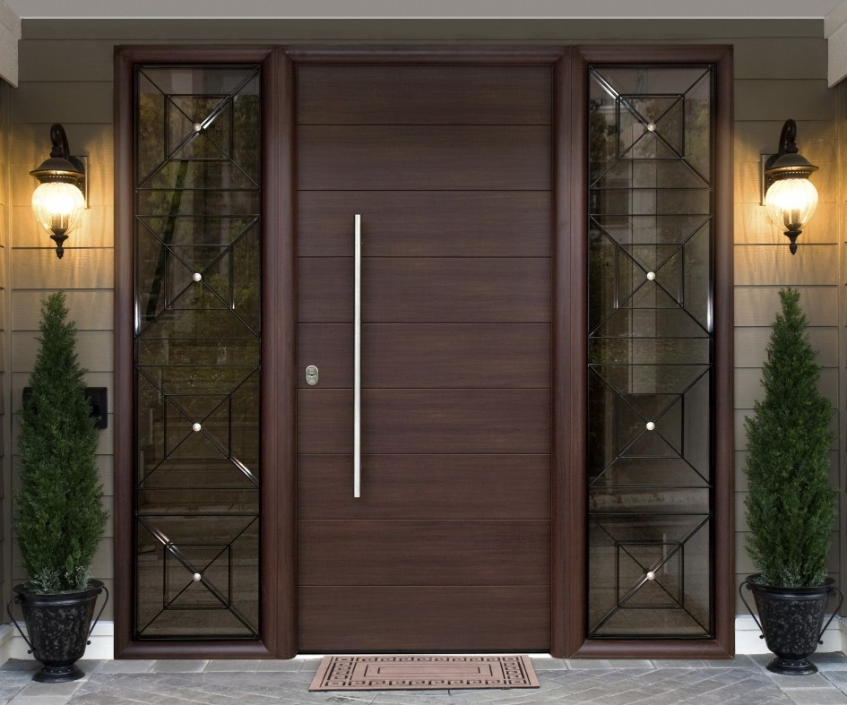 individual doble hoja de madera pvc puerta abatible de aluminio