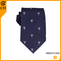 Necktie 100% Polyester Custom Design Mens Neckwear for Wholesale Hign Quality Ties