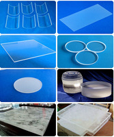 Heat resistant quartz glass for furnace viewing window