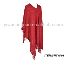 SUNGNAN New style in stock autumn winter scarf tassel knitted shawls