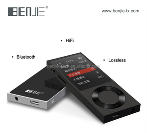 Bluetooth mp3 lossless HiFi music player support 256GB external capacity