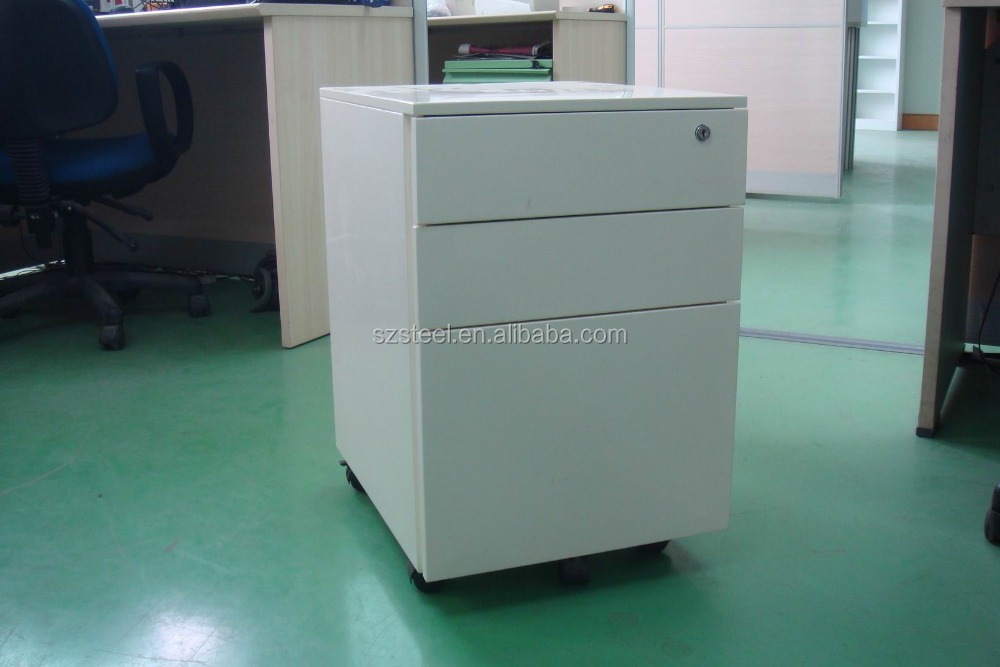 Guangdong Shenzhen office movable filing cabinet with 3 drawers