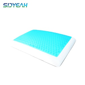 Comfort Moulded Traditional Style Bread Shape Gel Memory Foam Pillow , Cooling Gel Pillow Pad