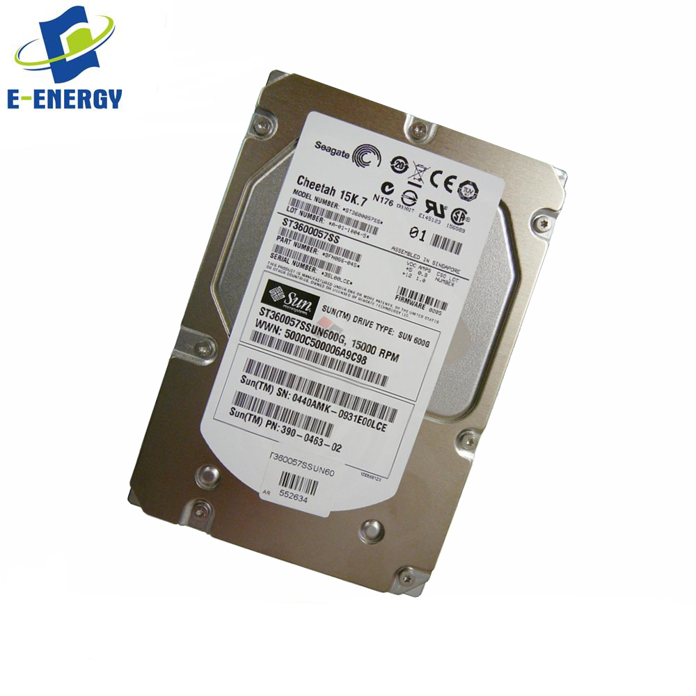 "EXC Dell Cheetah 15K.7 146GB 15K RPM SAS 6.0Gb//s 3.5/"" HDD Server Hard Drive"