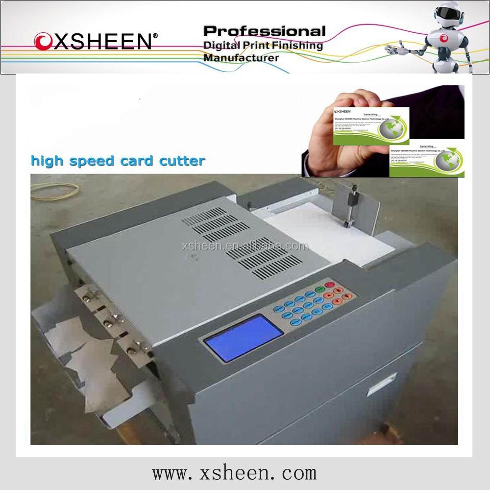 Automatic Card Cutter Machine, Automatic Card Cutter Machine ...