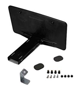 C5 and C6 Corvette Front Manual Retractable Plate by Altec Fits: All C5 97 through 04 Corvettes and 05 through 13 Base Coupe or Convertible Corvettes