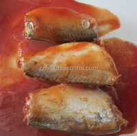 Canned mackerel in tomato sauce Preservation Instant food