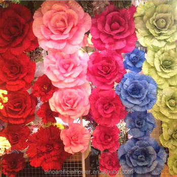 Giant silk artificial flower for wedding flower wall flower backdrop giant silk artificial flower for wedding flower wall flower backdrop mightylinksfo