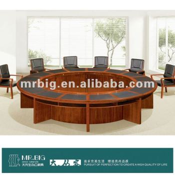Wm Round Conference Tablessolid Wood Conference Tablemeeting - Round wood conference table