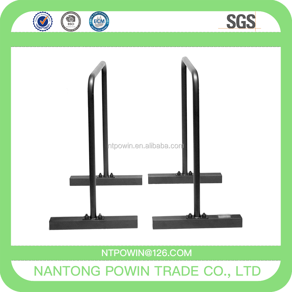 Fitness Parallettes for Crossfit, Calisthenics, Pull Up Station, Dip Bars