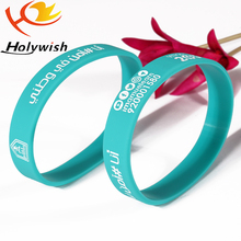 2017 Custom Promotional Wrist Band,Unadjustable Silicon