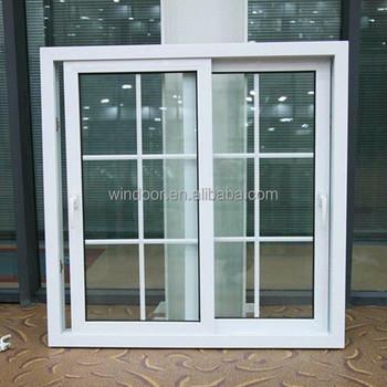 Amerikanischen Stil Schiebefenster China Fabrik Kunststoff Fenster