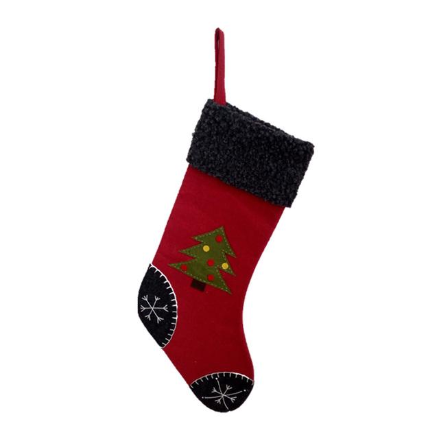 83484847549 Good quality colorful best decoration socks christmas stocking kits