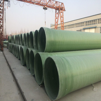 Filament Winding Fiberglass Reinforced Mortar Pipeline