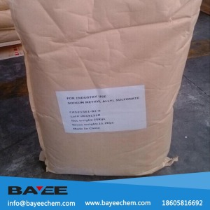 Einecs no 216-341-5 Sodium Methallyl Sulfonate for water treatment