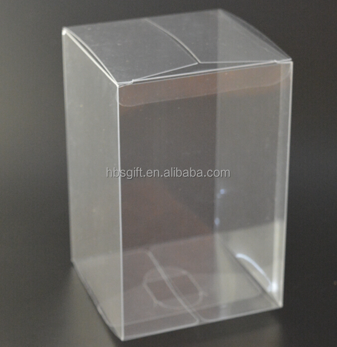 Custom High quality Clear/printing collapsible PVC /PET Plastic packaging box
