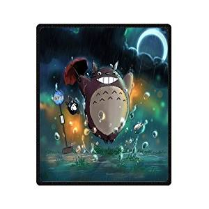 SOFTKIITY Blankets Design My Neighbor Totoro Blanket Fashion Warm Cozy Soft Sofa Bed Blankets Throws Blankets 58X80 Inches (Large)