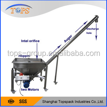 Spiral Loader For Twin Screw Extruder Machine