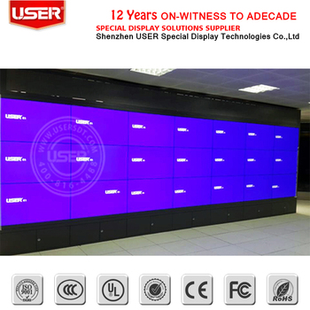 Great Direct Price Samsung 55inch Seamless Lcd/led Video Wall Made In China  Multi Screen With Bracket - Buy Led Video Wall Price,Led Video Wall,55