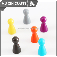 Multi color Plastic pawn for Board Game Useing