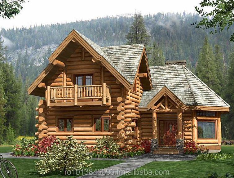 Casas de madeira cabanas de madeira casas de estrutura for Casa in legno romania