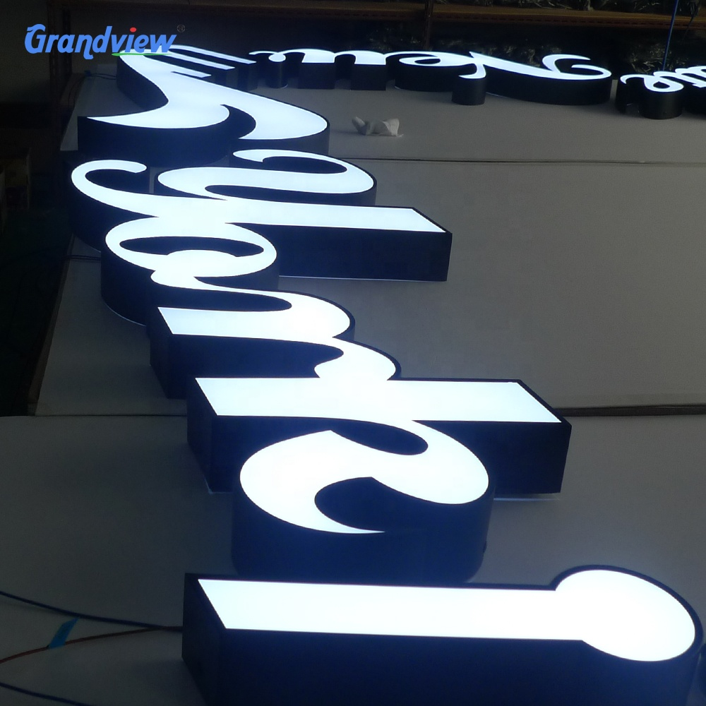 Laser Cut Channel Letter Material Price Illuminated Small Plastic Letters  Signs - Buy 3d Plastic Acrylic Letters,Lasering 3d Plastic Acrylic