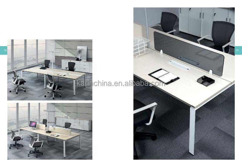 Guangdong Kaln Manufacturer European Style Open Workstation Modular Modern Office Furniture