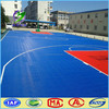 100% PP,Color optional High quality sports flooring outdoor pp interlocking plastic basketball flooring