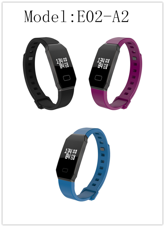 smart bracelet smart watch support OEM sleep monitoring Black/purple/white/blue