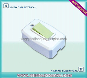 Factory Direct sell Electric light switch with fluorescent rocker