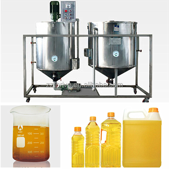 crude degummed rapeseed oil refinery machine;refinery for crude degummed rapeseed oil
