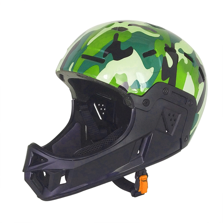 2019 New Design In-mold Full Face BMX Racing Bike Helmet 7