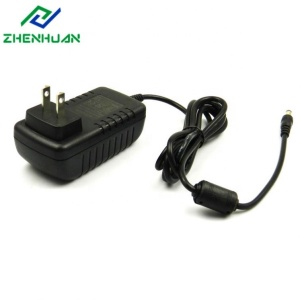 Power adapter 18v 2.5a 18v dc power adapter US JP Plug with UL cUL FCC PSE approval, DOE VI compliant