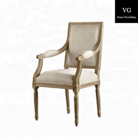 wooden victoria dining chair with armrest restaurant chairs china