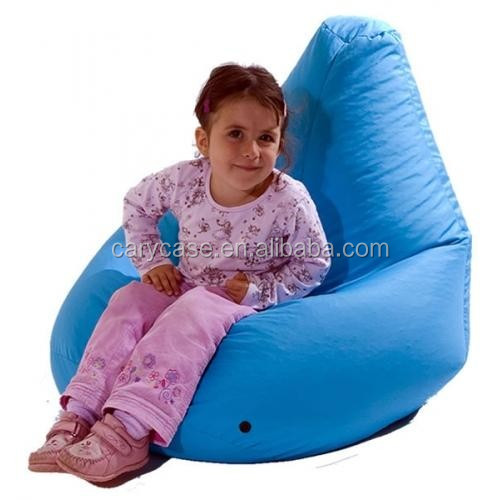 Kids Beige Comfortable Bean Bag Junior Phone Beanbag Chairs Indoor
