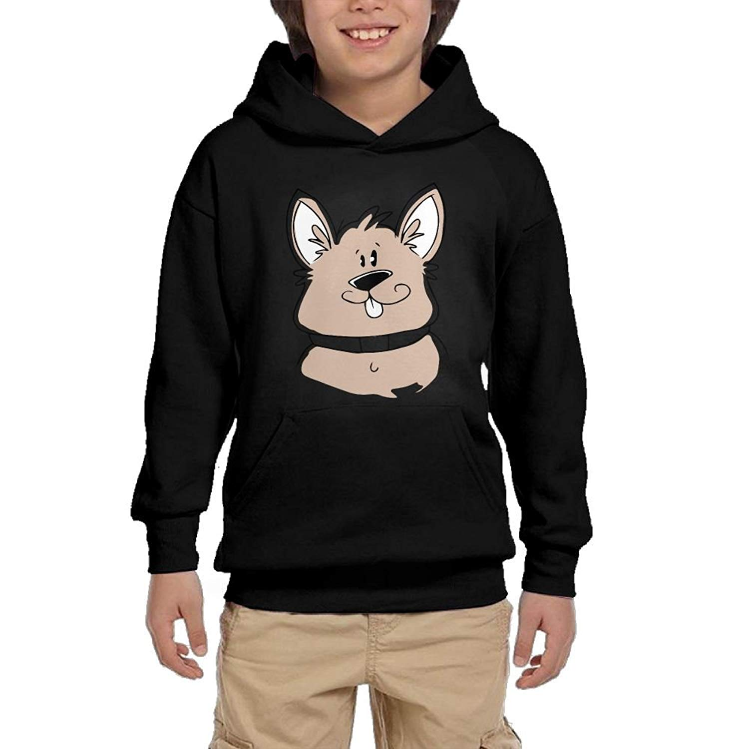 HUH HOODIES Rats 1 Youth Athletic Pullover Hoodies Casual Sweatshirts With Pocket