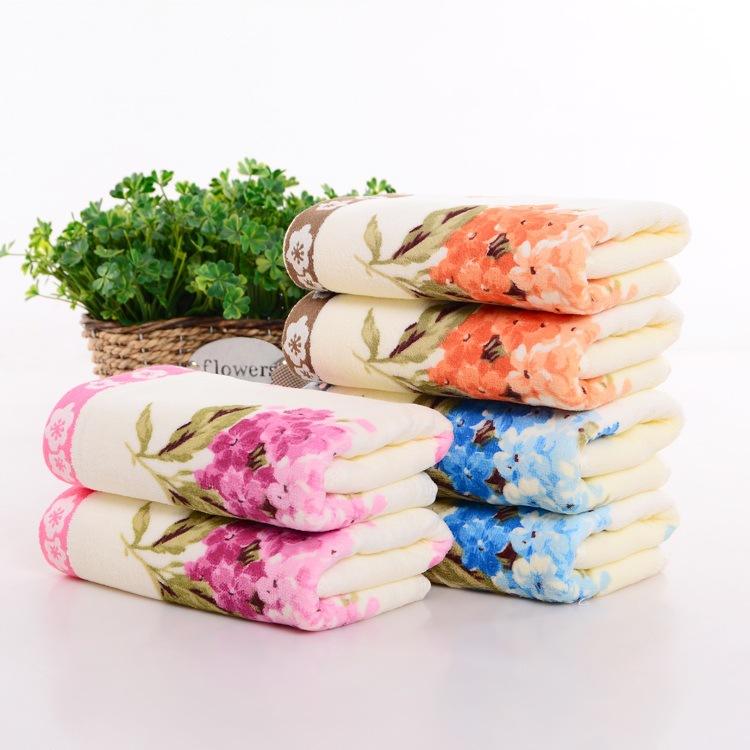 निर्माताओं थोक नई डिजाइन फैक्टरी रंगीन कस्टम मुद्रित स्नान तौलिए 100% कपास