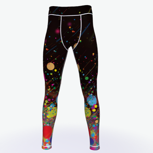 Original Factory 3D Sublimation Printing Compression Fit Custom Mens Gym Leggings