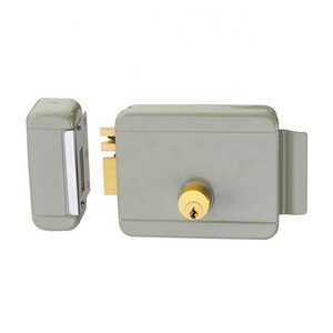 Security electric key lock series electric rim lock without button SAC-RJ103