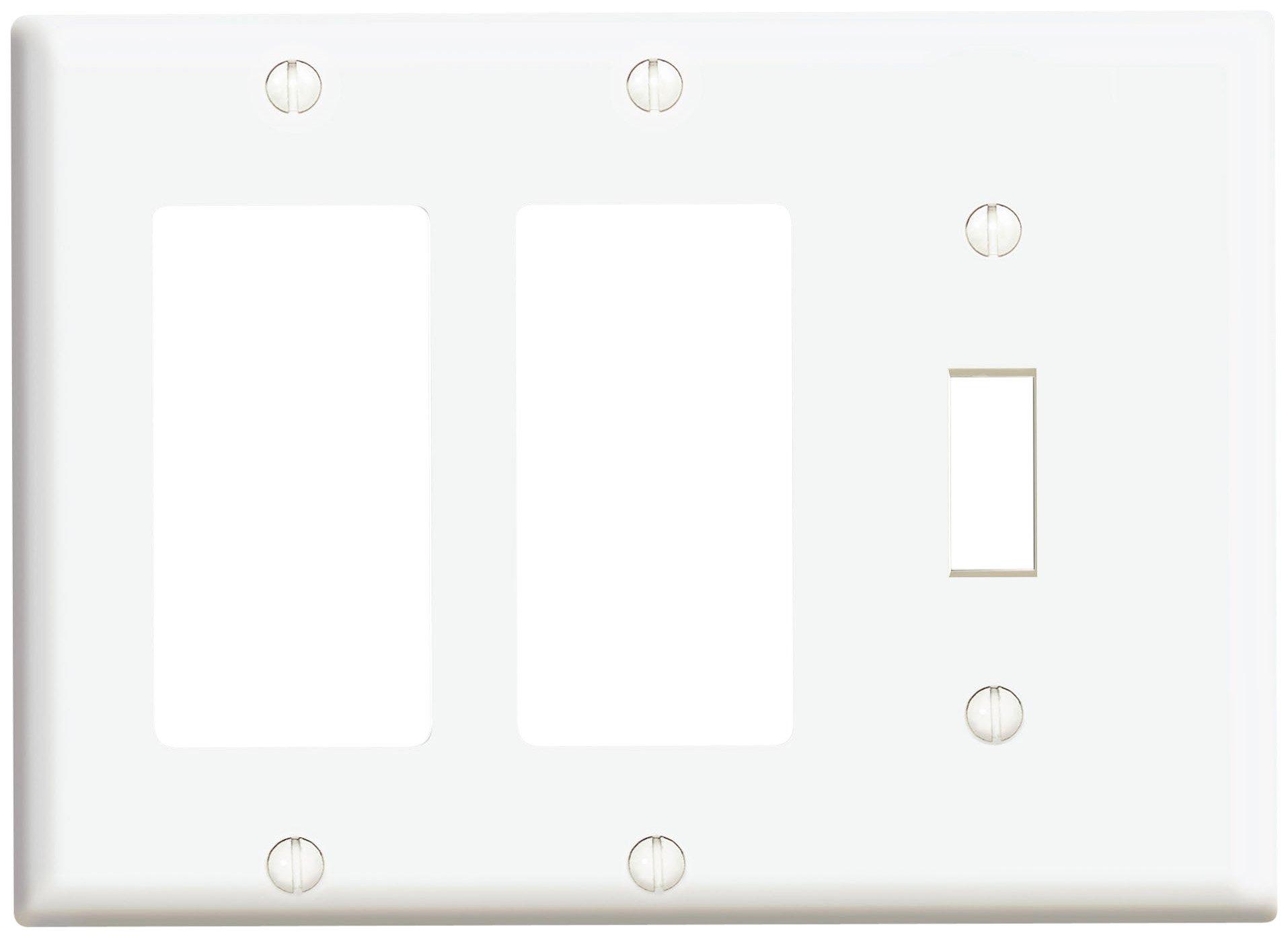 Triple Light Switch Wiring Diagram Leviton 1755 Triple Rocker