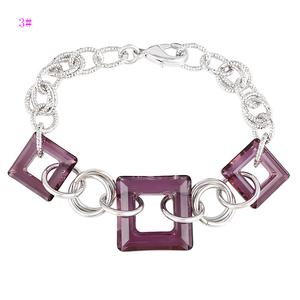 74679 Red color crystals from Swarovski Fashion jewelry Charm Bracelet  turkish stone jewelry