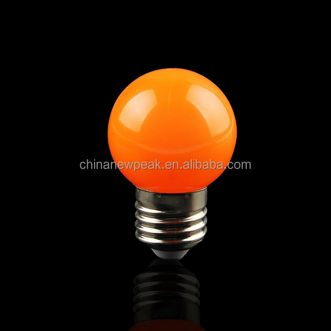 Waterproof G45 LED Bulb 0.5W E27 Holiday Christmas Decoration LED Light Balloons