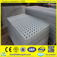 New products galvanized welded wire mesh panel for concrete building and reinforcing mesh