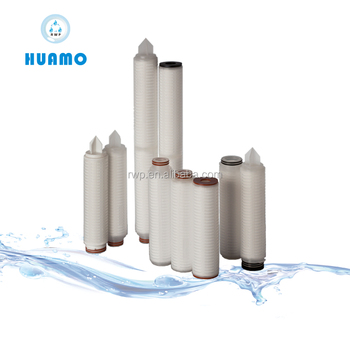 PP Pleated filter cartridge /coconut water filtration machine / plant process equipment