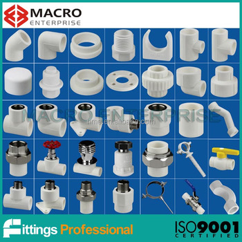 All types of ppr and pvc pipes and fittings buy ppr and for Plastic plumbing pipe types