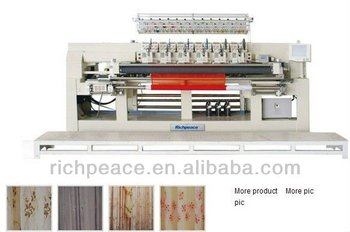 Richpeace Computerized Roll-to-Roll Embroidery Machine(Thin Material)