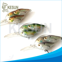Wholesale OEM Manufacturer for fishing BKK and VMC hook hard fishing bait crank bait fishing lure in stock