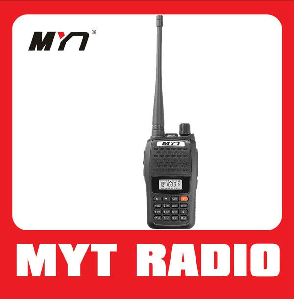 MYT-V77 cheap cb radio vhf/uhf portable 2 way radio with FM radio small size