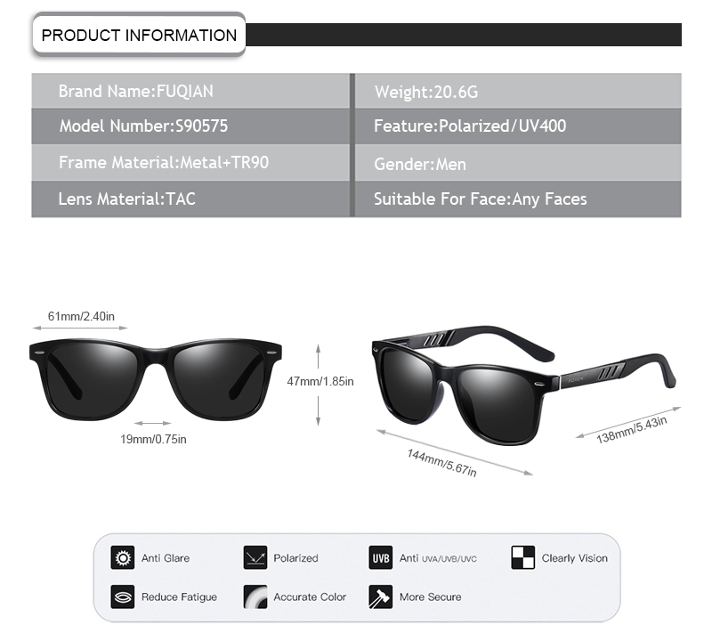 Fuqian expensive sunglasses company for running-9
